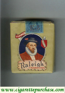 Raleigh cigarettes Tipped green soft box