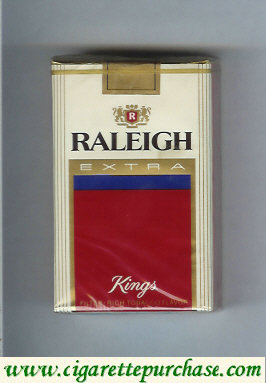 Raleigh Extra cigarettes soft box