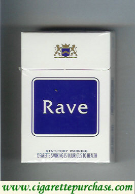 Discount Rave cigarettes hard box