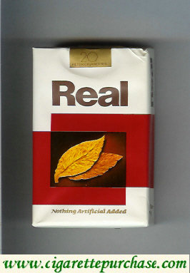 Discount Real Nothing Artificial Added Filters cigarettes soft box