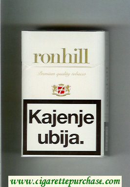Ronhill cigarettes hard box