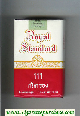 Royal Standard 111 cigarettes soft box
