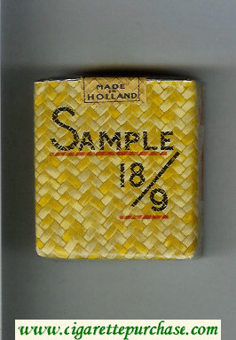 Sample 189 cigarettes soft box