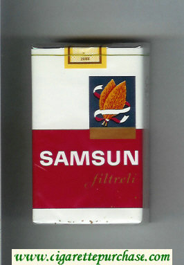 Samsun Filtreli cigarettes soft box