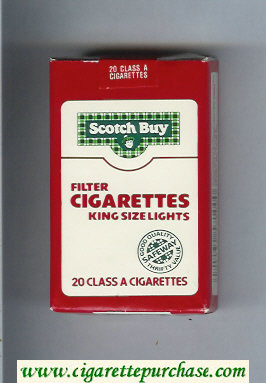 Scotch Buy Safeway Filter Cigaretess Lights cigarettes soft box