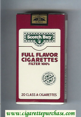 Scotch Buy Safeway Full Flavor Cigarettes Filter 100s cigarettes soft box