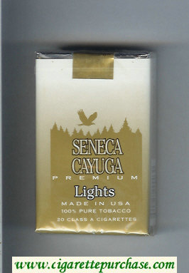 Discount Seneca Cayuga Premium Lights cigarettes soft box