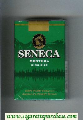 Discount Seneca Menthol cigarettes soft box