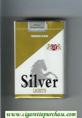 Silver Lights Premium Blend cigarettes soft box