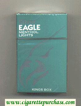 Discount Silver Eagle menthol-lights cigarettes hard box