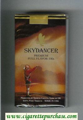 Skydancer Premium Full Flavor 100s cigarettes soft box