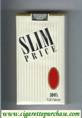 Slim Price 100s Full Flavor cigarettes soft box