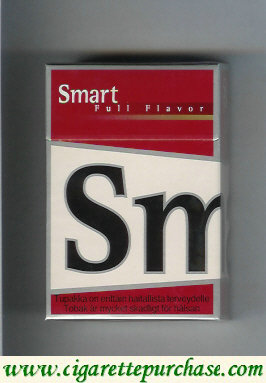Smart Full Flavor cigarettes hard box