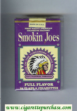 Discount Smokin Joes Full Flavor cigarettes soft box