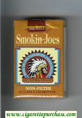 Smokin Joes Non-Filter cigarettes soft box
