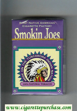 Smokin Joes cigarettes hard box