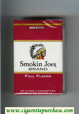 Smokin Joes Brand Full Flavor cigarettes soft box