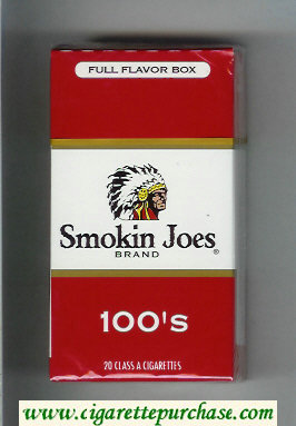 Smokin Joes Brand Full Flavor Box 100s cigarettes hard box