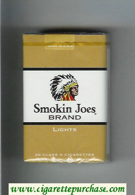 Smokin Joes Brand Lights cigarettes soft box