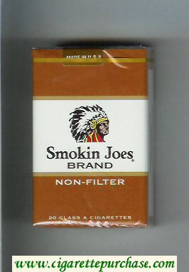 Smokin Joes Brand Non-Filter cigarettes soft box