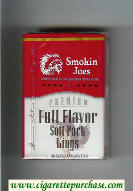 Smokin Joes Premium Full Flavor cigarettes soft box