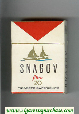 Snagov Filtru cigarettes hard box