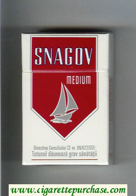Snagov Medium cigarettes hard box