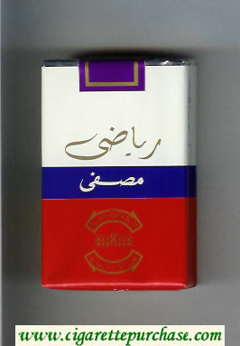 Sport cigarettes soft box