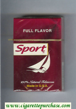 Sport Full Flavor cigarettes hard box