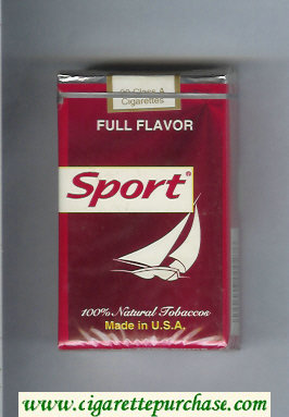 Sport Full Flavor cigarettes soft box