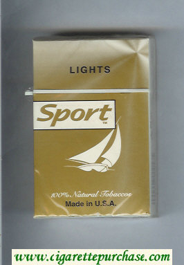 Sport Lights cigarettes hard box