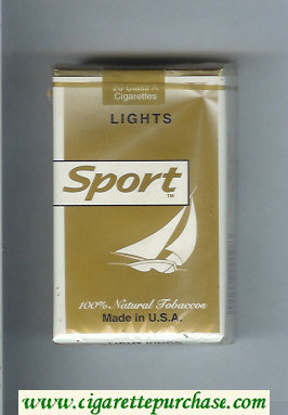 Sport Lights cigarettes soft box