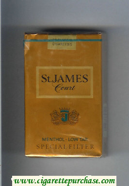 St.James Court Menthol cigarettes soft box