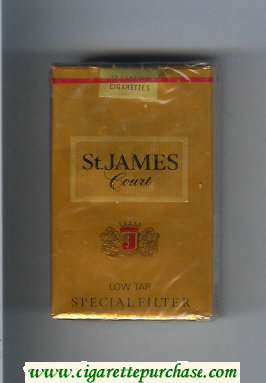 St.James Court cigarettes soft box