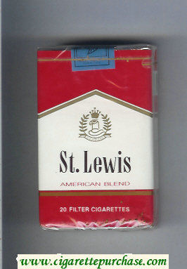 St.Lewis American Blend cigarettes soft box
