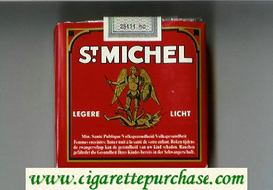 St.Michel Legera Licht 25 cigarettes soft box