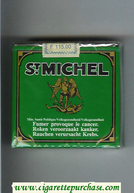 St.Michel 25 cigarettes soft box