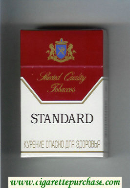 Standard Selected Quality Tobaccos Cigarettes hard box