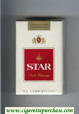 Star Full Flavour Cigarettes soft box