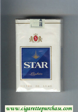 Star Lights Cigarettes soft box