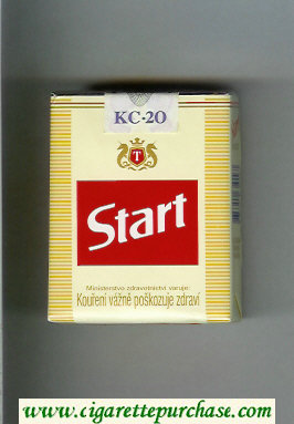 Start Cigarettes soft box