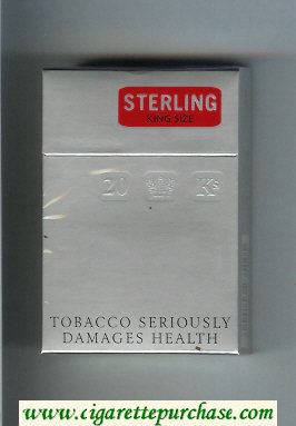 Sterling cigarettes hard box