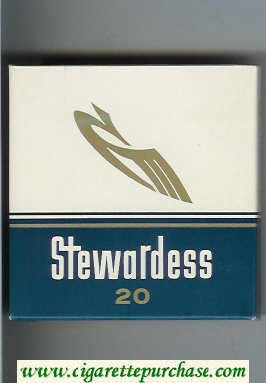 Stewardess cigarettes wide flat hard box