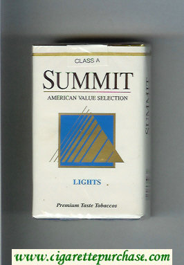 Summit Lights Cigarettes soft box