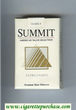 Summit Ultra Lights Cigarettes soft box