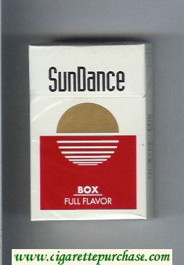 SunDance Full Flavor Cigarettes hard box