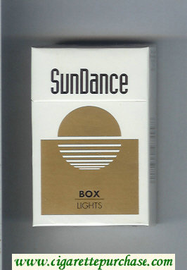 SunDance Lights Cigarettes hard box