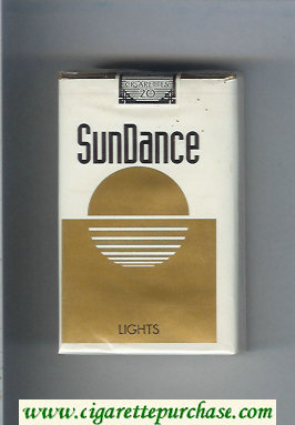 SunDance Lights Cigarettes soft box