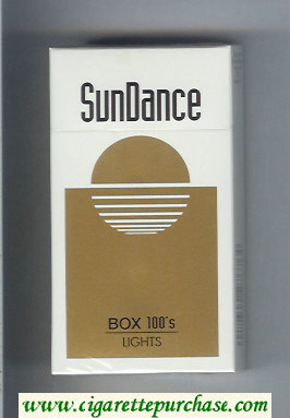 SunDance Lights 100s Cigarettes hard box