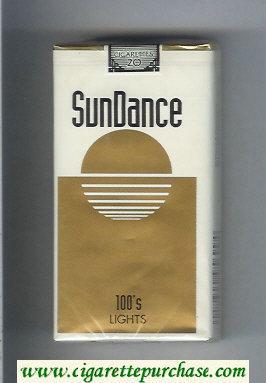 SunDance Lights 100s Cigarettes soft box